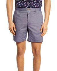 Bonobos Flat Front Chino Shorts - Blue