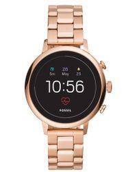 Fossil - Q Venture Hr Bracelet Watch - Lyst