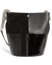 Alexander Wang - Genesis Patchwork Leather Bucket Bag - - Lyst