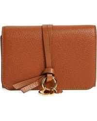 Chloé - Alphabet Leather Wallet - - Lyst