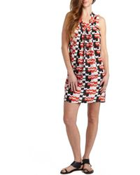 Loyal Hana - 'anya' Print Maternity/nursing Shift Dress - Lyst
