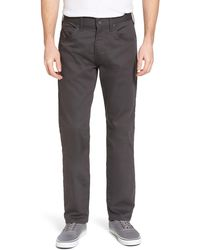 Patagonia M's Performance Twill Jeans - Gray