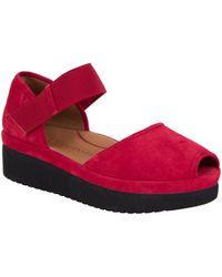 L'amour Des Pieds Amadour Platform Sandal - Natural