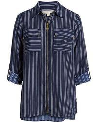 Kors by Michael Kors - Michael Michael Kors Bengal Striped Shirt - Lyst