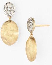 Marco Bicego - 'siviglia' Diamond Drop Earrings - Lyst