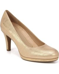 Naturalizer - 'michelle' Almond Toe Pump - Lyst