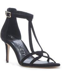 Sole Society Ambeleen Dress Sandal - Black