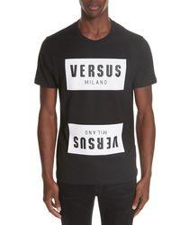 Versus Box Logo T-shirt - Black