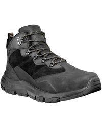 Timberland Garrison Field Waterproof Hiking Boot - Black