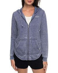 Roxy | Sunkissed Moment Shirttail Hoodie | Lyst