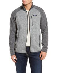 Patagonia - Better Sweater Zip Front Jacket - Lyst