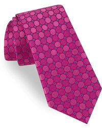 Ted Baker - Circle & Dot Silk Tie - Lyst