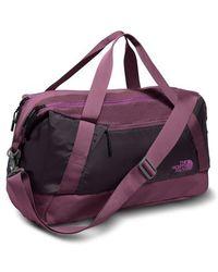 The North Face - Apex Gym Duffel Bag - Purple - Lyst