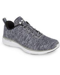 Athletic Propulsion Labs Techloom Pro Knit Running Shoe - Gray