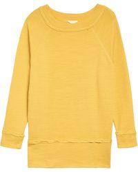 Caslon Caslon Dolman Sleeve Cotton Blend Pullover - Black