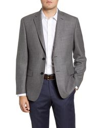 John W. Nordstrom - John W. Nordstrom Traditional Fit Houndstooth Wool Sport Coat - Lyst