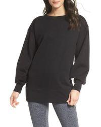 Zella - Boxy Oversize Sweatshirt - Lyst