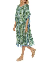 Red Carter - Pompom Cover-up Caftan - Lyst