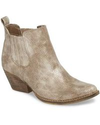 Very Volatile - Cady Chelsea Bootie - Lyst