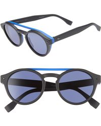 448b20827263f Lyst - Fendi Sunglasses Black 003 vk 53-22-135 in Black for Men