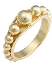 Lagos - Caviar Gold Ring - Lyst
