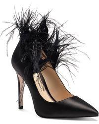 Jessica Simpson Paxtey Pointed Toe Pump - Black