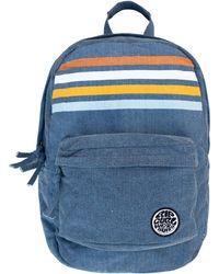 Rip Curl 18l Stripe Canvas Backpack - Blue
