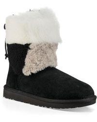 UGG - Ugg Patchwork Fluff Classic Bootie - Lyst
