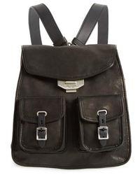 Rag & Bone - Small Leather Field Backpack - - Lyst