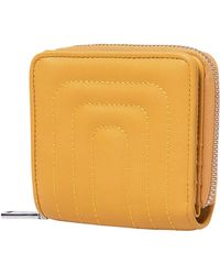 Urban Originals Joy Quilted Vegan Leather Wallet - Yellow