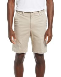 Vintage 1946 Men's Classic Flat Front Chino Shorts - Natural