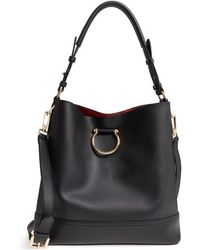 TOPSHOP | Remy Trophy Faux Leather Hobo | Lyst