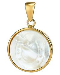 Asha - Horseshoe Mother-of-pearl Charm - Lyst