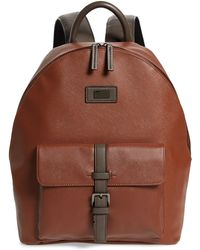 Ted Baker - Eazey Faux Leather Backpack - Lyst