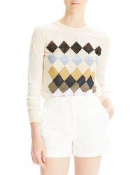 Theory - Stretch Cotton Mini Shorts - Lyst