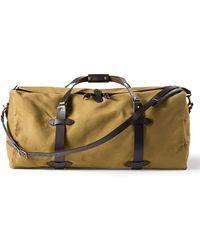 Filson Large Cotton Duffle Bag - Multicolour