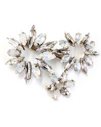 Brides & Hairpins Camila Crystal Hair Clip - Metallic
