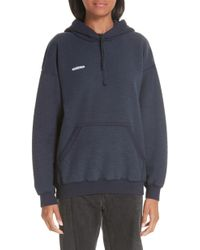Vetements - Inside-out Hoodie - Lyst