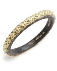 Armenta - Old World Textured Stack Ring - Lyst