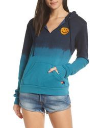 Aviator Nation - Faded Smile Hoodie - Lyst