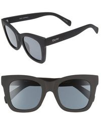 Quay - After Hours 50mm Square Sunglasses - - Lyst