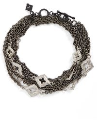 Armenta - New World Double Wrap Scroll Bracelet - Lyst