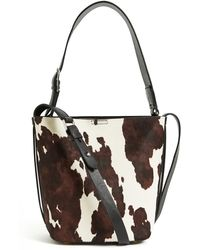 Reiss Hudson Mini Calf Hair Bucket Bag - Multicolor