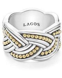 Lagos - Torsade Knot Ring - Lyst