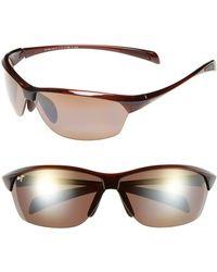 Maui Jim - Hot Sands 71mm Polarizedplus2 Sunglasses - Rootbeer - Lyst