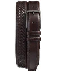 Mezlan | Parma Woven Leather Belt | Lyst