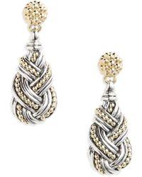 Lagos - Torsade Drop Earrings - Lyst