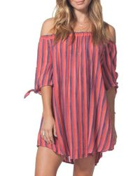 Rip Curl - Sedona Cover-up Dress - Lyst