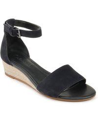 Splendid Aria Wedge Sandal - Blue