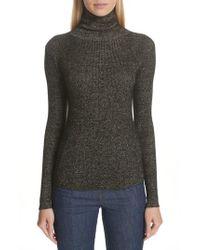 Ulla Johnson - Mars Metallic Cashmere Blend Turtleneck Sweater - Lyst